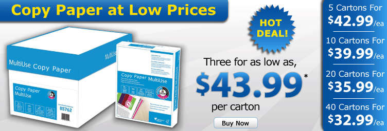 Quality Paper at low prices